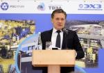 Генеральный директор Госкорпорации «Росатом» Алексей Лихачев на ЭХЗ (декабрь 2017)